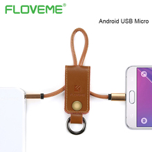 FLOVEME New Design Portable Charger Cable Micro USB Line for Android Phone Tablet PC Camera Durable PVC Plated Data Sync Cable