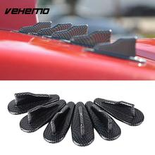 EVO Style Carbon Fiber Cars Roof Shark Fins Auto Modify Accessories Fittings