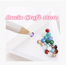Lucia Crafts 1piece/4pcs Picking Tools Special Picker Pencil Pen for Rhinestone and hot fix Beads 63004012