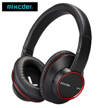 Mixcder HD601 Over-Ear aptX Low Latency Wireless Bluetooth V4.2 CSR NFC Stereo Headphone Headset Dual Mode Sound for TV Phone