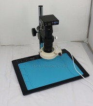 "3 in 1 HDMI /VGA /USB outoput 1/2.5 ""CMOS 1080P C-mount 180x Microscope Camera OSD Support with Maintenance platform table"