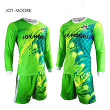 cheap replica goal keeper soccer jerseys football club uniform soccer jersey design fast delivery(China)