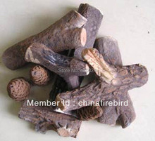 ethanol fireplace accessories FDSL02 + Ceramic logs + Ceramic fiber(China)