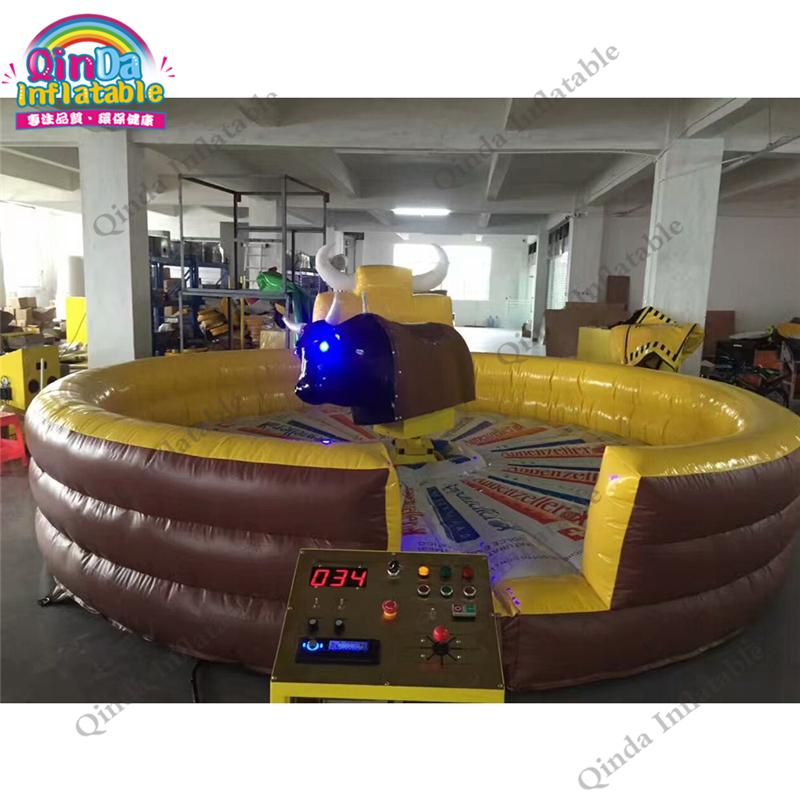inflatable mechnical bull mat53