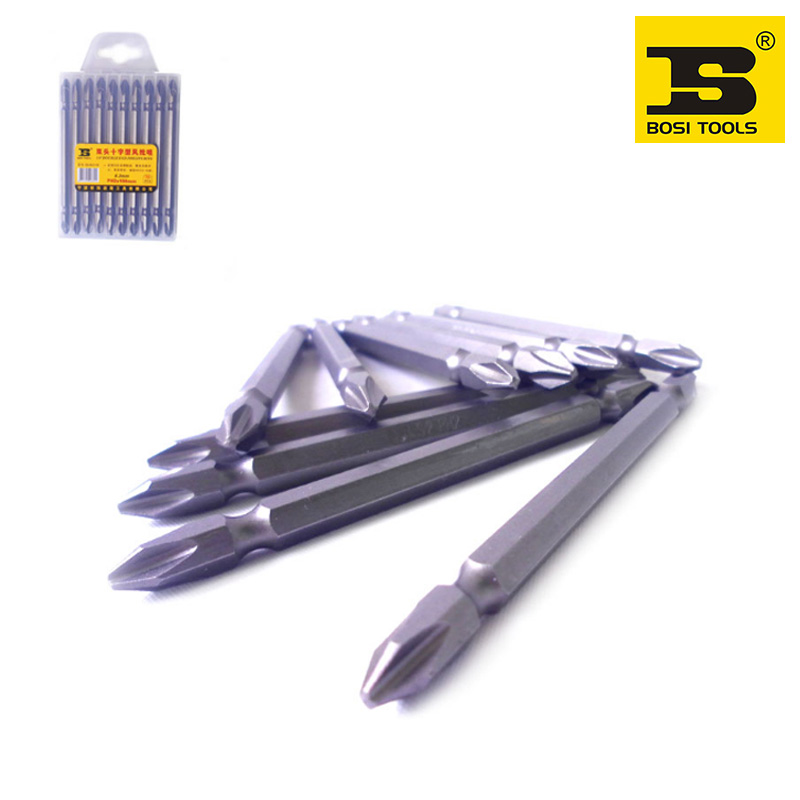 free shipping 10pc BOSI PH2x100mm 1/4 Dr.double end screwdriver bits<br><br>Aliexpress