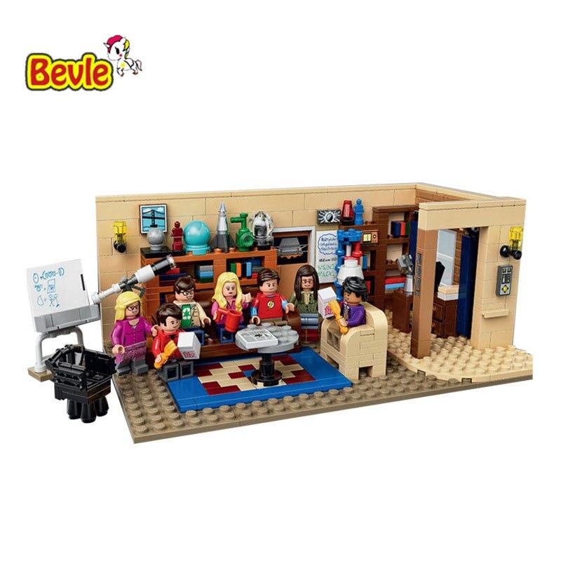 2017 New Arrival  16024 534Pcs Movie Series The Big Bang Theory Building Blocks Bricks Toys Gift 21302<br>