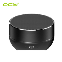 QCY QQ800 Wireless Bluetooth Speaker mini portable metal subwoof MP3 music player support TF card with Mic for phone call(China)