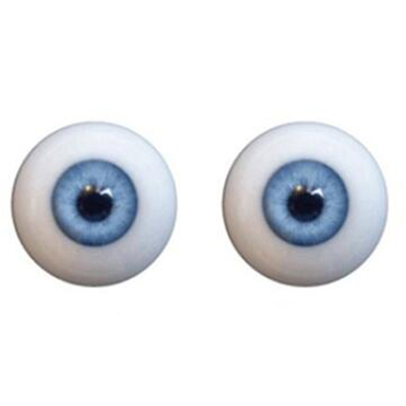 Cosdoll Realistic Sex Doll Eyes for Silicone Sex Dolls, Black Green Blue Brown 4 Colors, Only Eyes Fit For 100cm to 175cm Body<br>