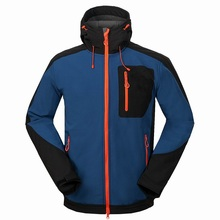 Mens Winter Softshell Jackets Outdoor Sport Waterproof Inside Fleece Coats Hiking Camping Trekking Ski Male Brand Clothing VA022