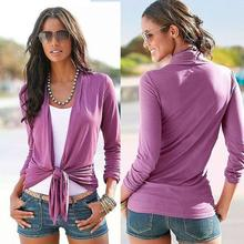 New 2017 Explosion Models All-match Purple Cardigan Jacket Slim Lady Free Shipping
