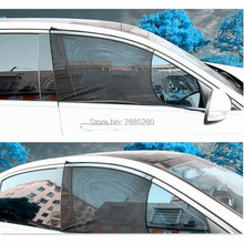 2Pcs Car Window Cover Sunshade Curtain Window Protection Shield Sun ford mondeo 4 renault duster mitsubishi lancer 10 cruze