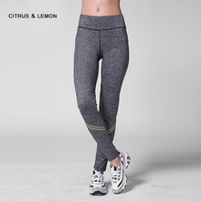 New 2017 fitness legging women's casual pants show thin fitness apparel  nine pants exercising and fast dry