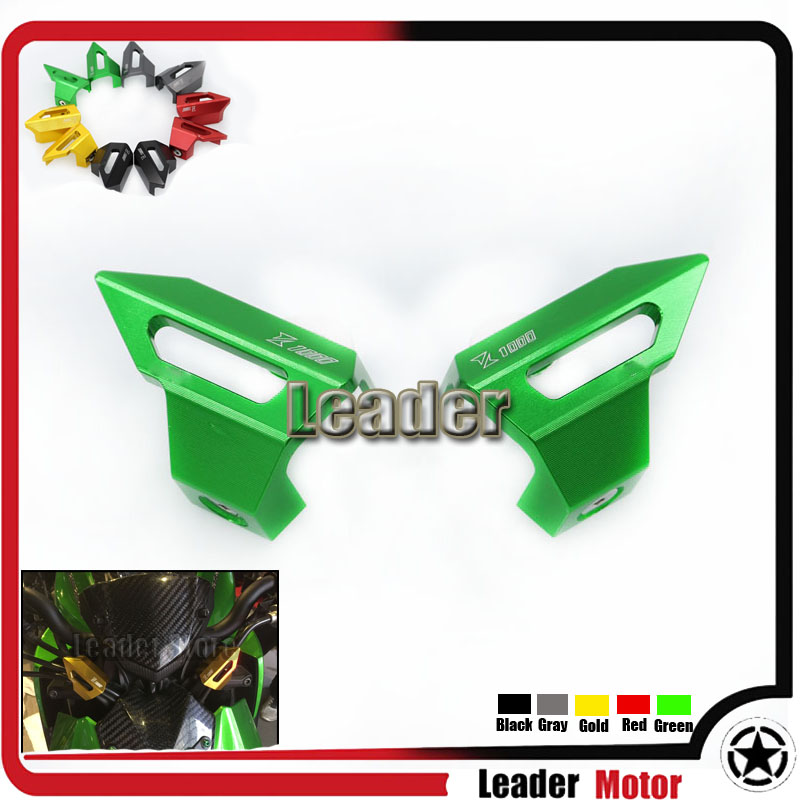 Hot sale For KAWASAKI Z1000 2014 Motorcycle Accessories Handlebar Mounting Cover Green<br>