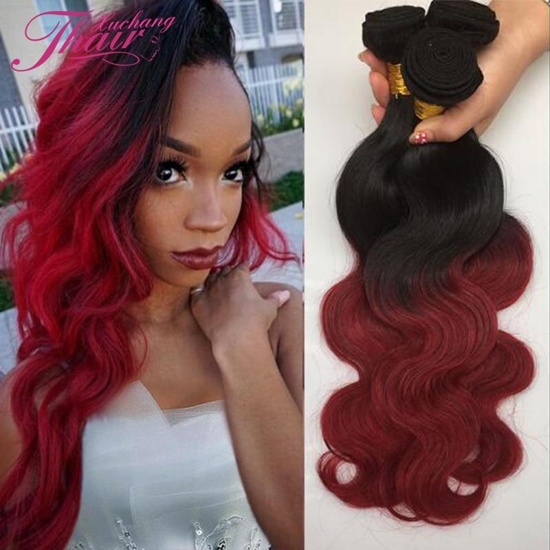 Бургундский цвет волос