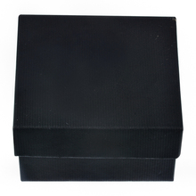 1PC Black Paper Watch Storage Box Durable Present Gift Box For Bracelet Bangle Jewelry Watch Box Case Display Storage Organizer