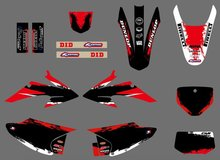 GRAPHICS BACKGROUNDS For Honda CRF150 CRF230 CRF150F CRF230F 2008 2009 2010 2011 2012 2013 2014 CRF 150 150F 230 230F(China)
