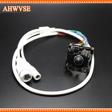 AHWVSE HD Mini 3.7mm Lens 1920*1080P IP Camera Module Board IRCUT CMOS CCTV IP camera+ HD IR-CUT with nvsip application