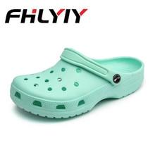 Women Sandals Summer Slippers Croc Shoes Fashion Beach Sandals Casual Flat Slip Flip Flops Female Hollow Outdoor Shoes Women