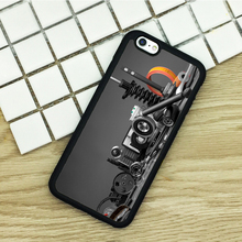 Soft TPU Phone Cases For iPhone 6 6S 7 Plus 5 5S 5C SE 4 4S ipod touch 4 5 6 Cover Shell Auto Mechanic Car Parts