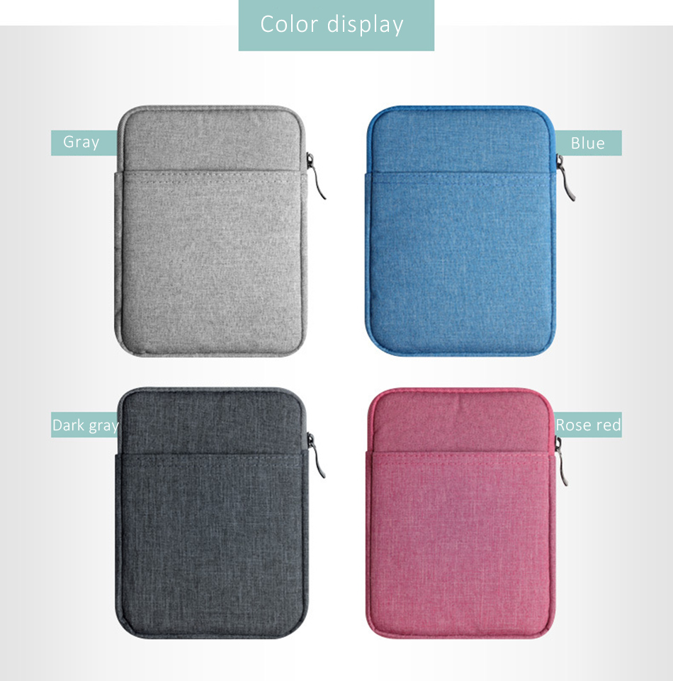 Cotton Shockproof 9.710 inch Tablet Sleeve Bag Cover Funda For New iPad 9.7 Pro9.7 Air 1 2 Protective Pouch Thick Case Shell (3)