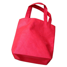 7pcs Non-woven Reusable Kids Carrying Shopping Grocery Tote Bag for Party Favor (Random Color)(China)
