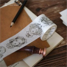 1pcs 24designs about Gothic Age series Vintage Style washi tape Diary decoration masking tape adhesive Hand ripped paper tape