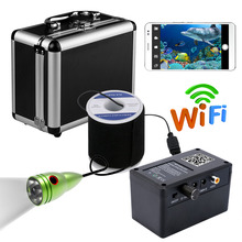 GAMWATER 720P Wifi Wireless 50M Underwater Fishing Camera 165 degree Video Recording For IOS Android APP Supports Video Record(China)