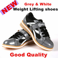 New2016 Professional Weightlifting Shoes Squat Competition Training Leather anti-Slip Weight lifting Shoe KWE231 fitness sneaker(China)