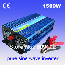 Off Grid 1500w DC12V/24V, AC110V/220V, Pure Sine Wave Solar Inverter or Wind Inverter, Surge 3000w,50Hz/60Hz , Single Phase