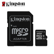 Kingston Digital Memory Card 64GB 128GB microSDXC Class 10 UHS-I Micro SD card 16GB 32GB 8GB microSD 45MB/s with SD Adapter