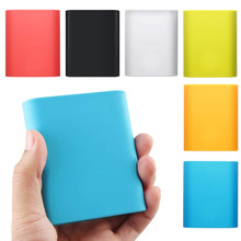 Besegad Silicone Protective Case Cover Skin Shell Sleeve for Xiaomi Xiao Mi Xiomi 10400mAh Power Bank Accessories Gadgets