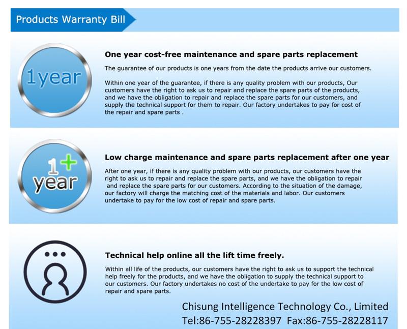 porduct warranty