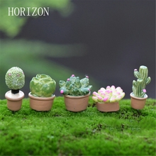 5Pcs/lot Plant DIY Resin Fairy Garden Craft Decoration Miniature Micro Gnome Terrarium Gift(China)