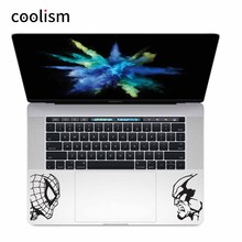 Spider-man vs Wolverine Laptop Decal Trackpad Sticker for Macbook Skin Pro Air Retina 11 12 13 15 inch Notebook Touchpad Decal(China)