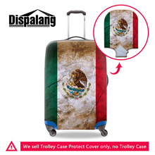 Dispalang personalized customized flags suitcase trolley case protector cover designer waterproof stretch elastic baggage covers