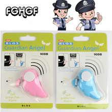 Free Shipping Protection Girl Women Anti-Attack Panic Safety Security Rape Alarm Mini Loud Self Defense Supplies Emergency Alarm