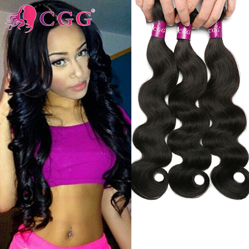 4 Bundles 7A Brazilian Virgin Hair Body Wave CGG Human Hair Weave 100% Unprocessed Human Hair Extension Brazilian body wave<br><br>Aliexpress