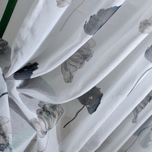 European retro style chiffon fabric, High-quality fabric screens