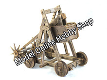 Free shipping New HOT wooden scale model the ancient empire battlefield series mangonel ancient weapon wood toys christmas gift