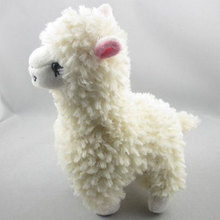 Soft Cuddly Alpaca Llama Plush Toy Doll Cute Animal Stuffed Kids Birthday Easter Gift Comforting Baby Infant Fluffy Home Decor(China)