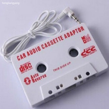 car cassette tape adapter cassete adapter car audio cassette adapter adattatore cassetta mp3 free shipping(China)