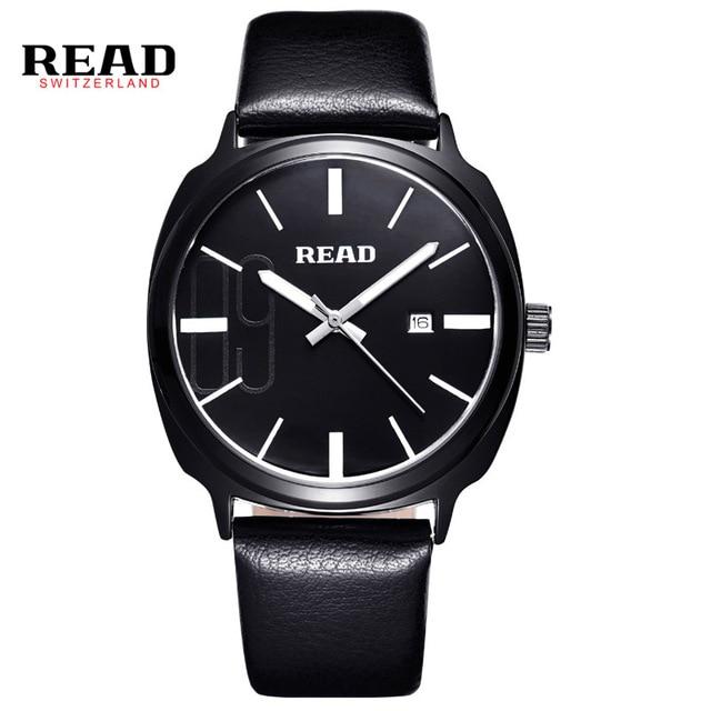 READ WATCH Mens fashion watch students simple quartz table belt R2063<br><br>Aliexpress