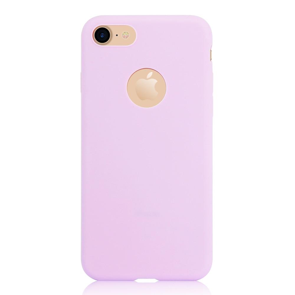 KIP71149P_1_Matte Pure Color Soft TPU Case for iPhone 7