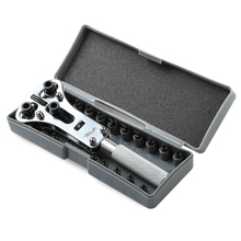 Professional Watch Back Case Opener Battery Change Screw Tool Kit Adjustable Screw Back Remover Wrench Repair