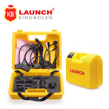 Launch X431 Diagun IV yellow case with full set cables Yellow box for x-431 Diagun IV Hot sale free shipping(China)