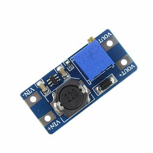 Free Shipping 10Pcs/lot MT3608 2A Max DC-DC Step Up Power Module Booster Power Module For arduino