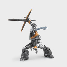"Free Shipping 9"" Game Master Yi - the Wuju Bladesman Metal Ver. Boxed 23cm PVC Action Figure Collection Model Doll Toy Gift"