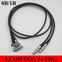 LEMO Connector FGG To FHG Straight Male Plug Elbow Male Plug 0B 1B 2 3 4 5 6 7 8 9 10 14 16 Pin Connector Welding Cable 1M