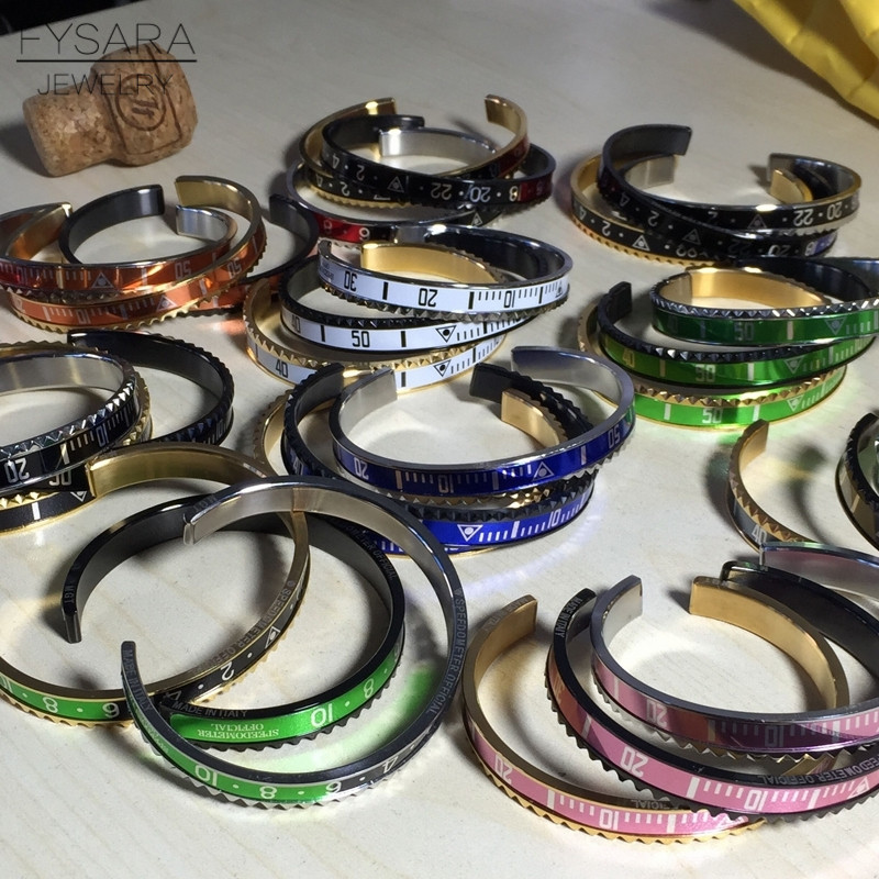 Speedometer Stainless Steel Fashion Bracelets 7