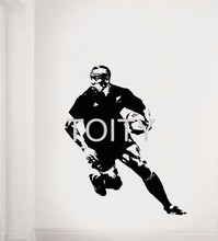 Jonah Lomu Wall Sticker New Zealand Rugby Union Player Vinyl Decal Home Room Interior Graphic Art Decor Sport Style Mural